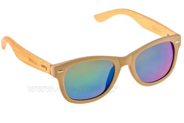 Γυαλιά Artwood Milano Bambooline 1 MP200 Grey - Green Mirror Polarized Cat3