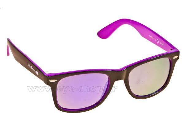 ΓυαλιάItalian EyeworksIE2034BlackViolet VioletMirror