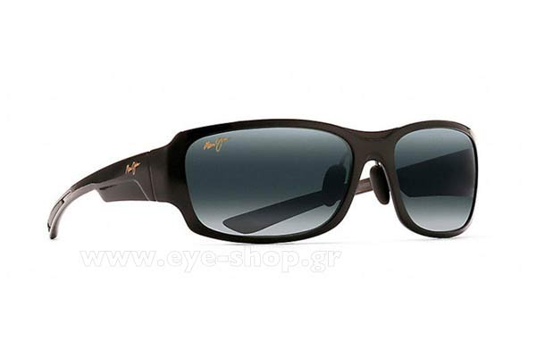 Γυαλιά Maui Jim BAMBOO FOREST 415-02J - MauiPure Gray double gradient mirror Polarized Plus2