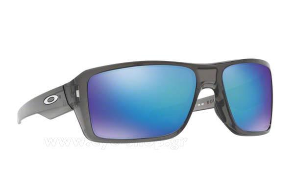 ΓυαλιάOakleyDouble Edge 938006 Grey Smoke Prizm Sapphire Polarized