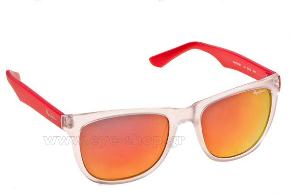 Γυαλιά Pepe Jeans ALEX PJ7166 C6 Transparent - red - Red Mirror