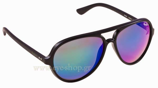 ΓυαλιάPepe JeansRenata PJ7141c9 Matte Black Green Mirror
