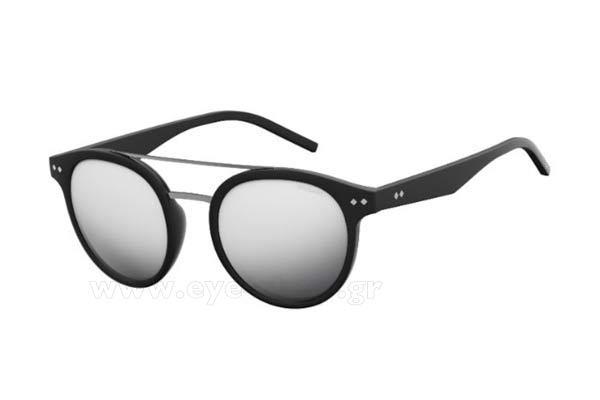 ΓυαλιάPolaroidPLD 6031 S003  (EX) MTT BLACK (GREYSLV FL PZ) Polarized
