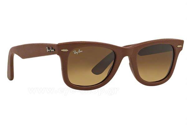 ΓυαλιάRayban2140QM Wayfarer116985 Leather