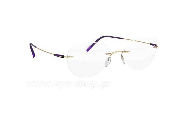 ΓυαλιάSilhouette5500 BB7530 Gold Plum