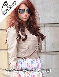 Amy Childs Wearing Rayban aviator sunglasses μοντέλο 3025 Aviator στο χρώμα 003/58 polarized