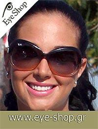 ebacb0c4c8d17e Tulisa Contostavlos wearing RayBan sunglasses. Rayban 4098 Jackie Ohh II