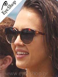 Jessica Albaμε τα γυαλιά ηλίου Christian DiorDIORSIDERAL1