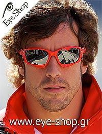 Fernando Alonsoμε τα γυαλιά ηλίου Oakleyjawbone 9089