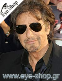 Al Pacino wearing Rayban Sunglasses Leicester Square, London, Uk μοντέλο 3025 Aviator στο χρώμα 003/58 polarized
