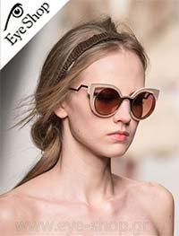 Fendiμε τα γυαλιά ηλίου FendiFF 0137S