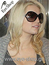 Jessica Simpsonμε τα γυαλιά ηλίου Gucci3509