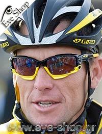 Lance Armstrongμε τα γυαλιά ηλίου OakleyJawbone 9089