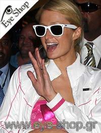 Paris Hiltonμε τα γυαλιά ηλίου RayBan2140 Wayfarer