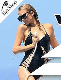 Paris Hiltonμε τα γυαλιά ηλίου Italia IndependentI-LUX 0919GR