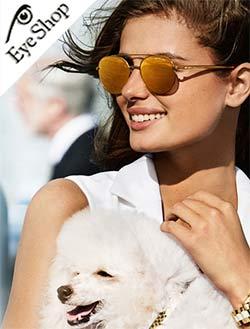 Emily Ratajkowskiμε τα γυαλιά ηλίου Michael Kors1021 LON