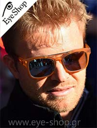 Nico Rosbergμε τα γυαλιά ηλίου Italia IndependentI-PLASTIK 0914