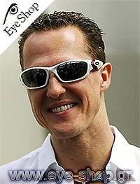 Michael Schumacherμε τα γυαλιά ηλίου OakleyStraight-Jacket-9039