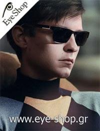 Tobey Maguireμε τα γυαλιά ηλίου Prada29NS