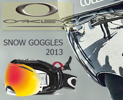 Oakley Snow Goggles 2013