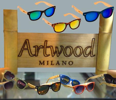 Ξύλινα γυαλιά ηλίου Artwood-Milano Bamboo Line