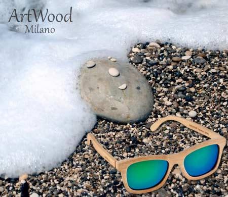 ArtWood Milano ξύλινα γυαλιά ηλίου