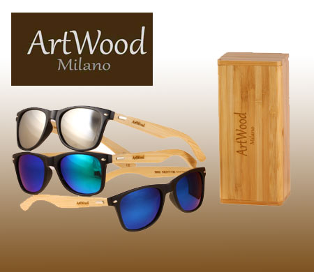 Ξύλινα γυαλιά ηλίου Artwood-Milano
