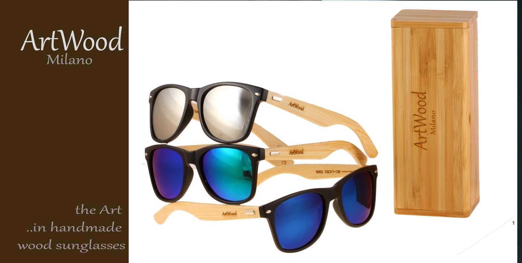 ARTWOOD-MILANO Ξύλινα γυαλιά ηλίου Artwood-Milano 5bc1f275725