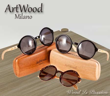 Νέο μοντέλο γυαλιών ηλίου ArtWood Milano.