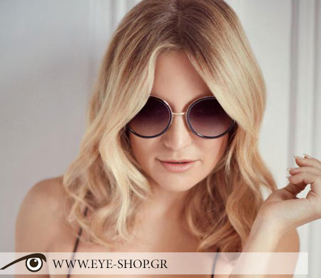 Jimmy Choo Round sunglasses new collection 2016