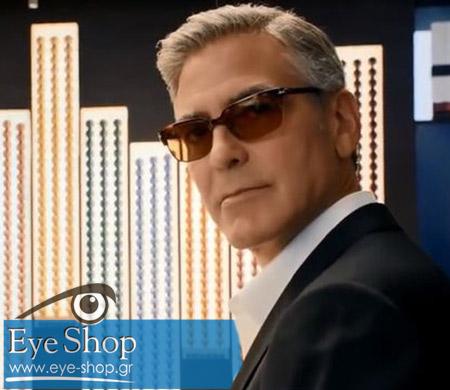 Τα γυαλιά ηλίου του George Clooney