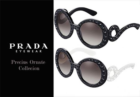 Prada Precious Ornate sunglasses