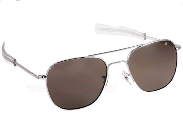 Γυαλια Ηλιου American Optical ORIGINAL PILOT Silver Τιμή: 96,00