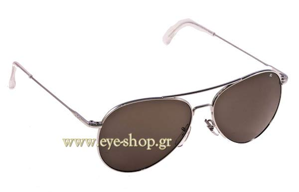 Γυαλια Ηλιου American Optical GENERAL Silver - Gray Τιμή: 98,00