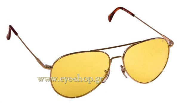 Γυαλια Ηλιου American Optical GENERAL Gold Yellow - Night Drive Lenses Τιμή: 92,00
