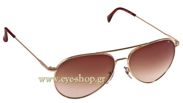 Γυαλια Ηλιου American Optical GENERAL Gold - Brown Gradient Τιμή: 92,00
