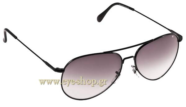 Γυαλια Ηλιου American Optical GENERAL Black - Gray Gradient Τιμή: 102,00