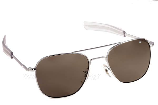 Γυαλια Ηλιου American Optical ORIGINAL PILOT Silver Τιμή: 89,89