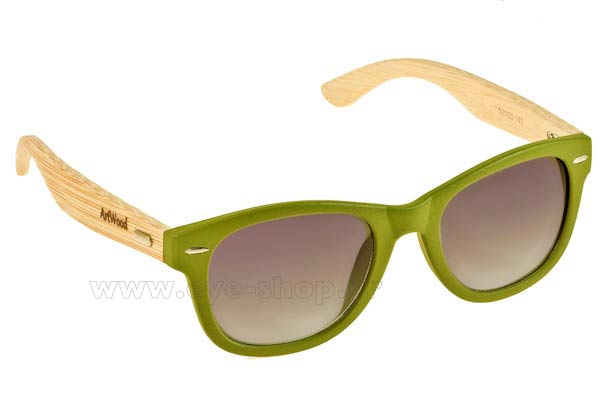 Γυαλια Ηλιου Artwood Milano Bambooline 1 MP200 Green - bamboo temples Τιμή: 73,00