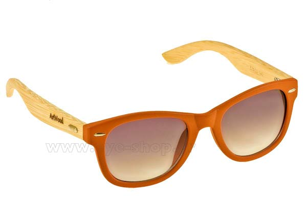 Γυαλια Ηλιου Artwood Milano Bambooline 1 MP200 Orange - bamboo temples Τιμή: 73,00
