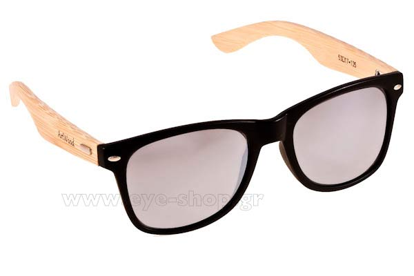 Γυαλια Ηλιου Artwood Milano Bambooline 2 MP200 MtBlk SilverMirror Polarized Cat3 Τιμή: 101,00