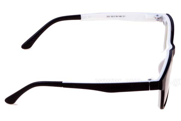 Spectacles Bliss Ultra 323 clipon included
