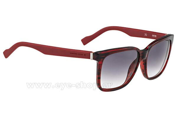 Γυαλια Ηλιου Boss-Orange BO-0145S 6SA  (9C)	REDMLNRED (DK GREY SF) size 56 Τιμή: 123,00
