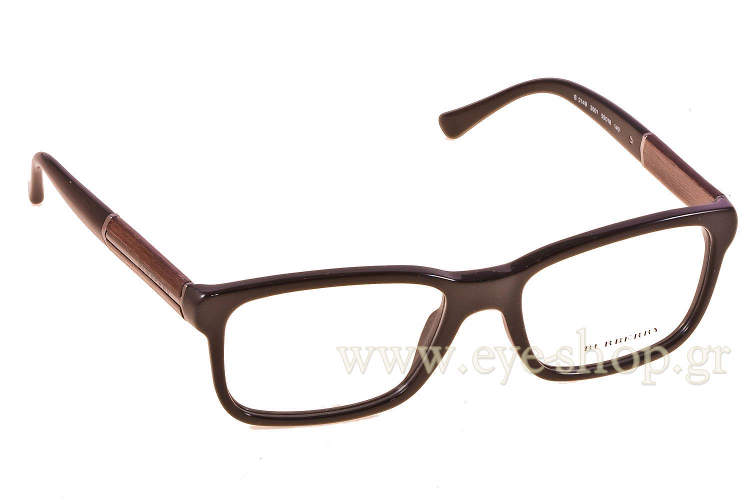 02ff43ee534 Enlarge Colors OutOfStock · Glasses Burberry 2149 3001 wood