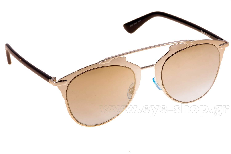 ad2d547b78 Γυαλια Ηλιου Christian-Dior DIORREFLECTED EEI (0H) LTGD BLK (GOLD SF AZURE