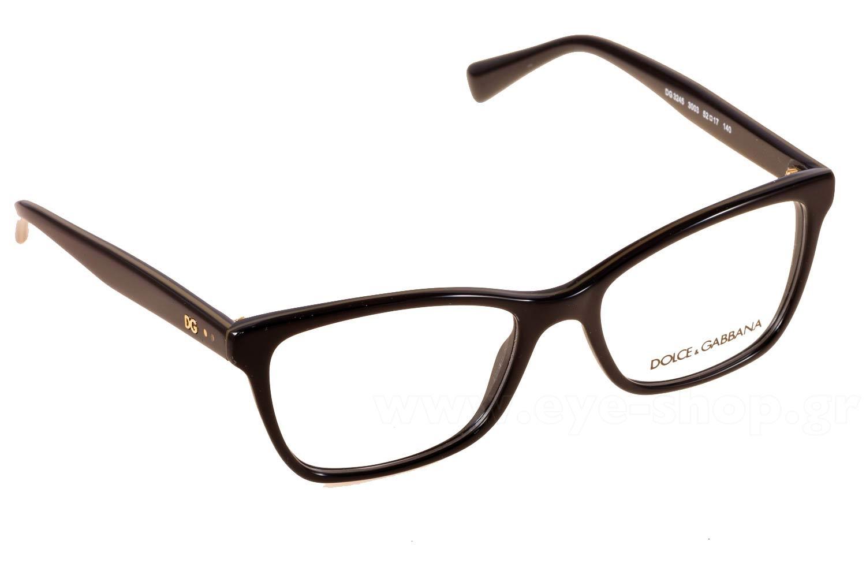 ba7309488f1b Cateye , Color Black plastic. Enlarge Colors OutOfStock · Glasses Dolce  Gabbana 3245 3003