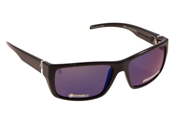 Γυαλια Ηλιου Electric SIXER BLK Melanin Polarized II Blue Mirror size 58 Τιμή: 217,00
