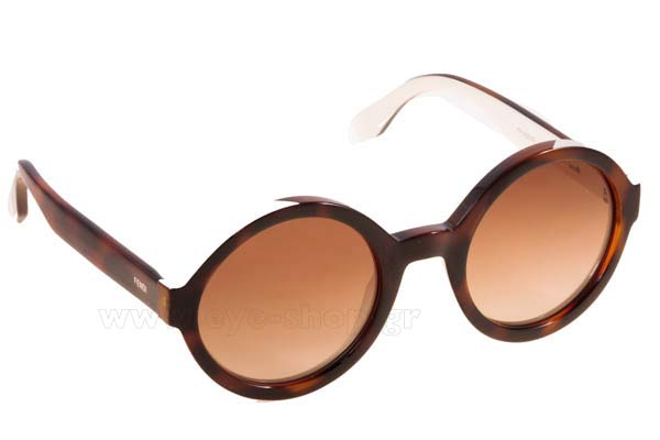 Γυαλια Ηλιου Fendi FF-0120S MIY  (HA)	HVNACREAM (BROWN SF) size 51 Τιμή: 171,98