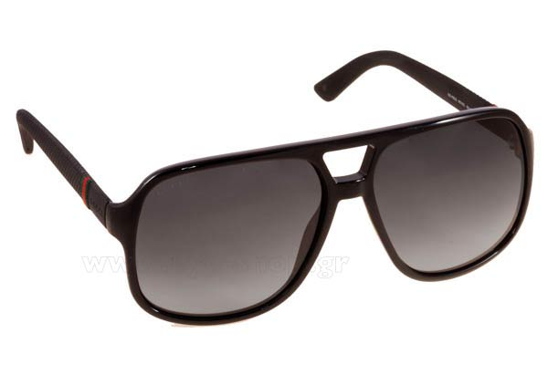 Γυαλια Ηλιου Gucci GG 1115S M1V  (9O)	BLACK RBBR (DARK GREY SF) Τιμή: 167,99