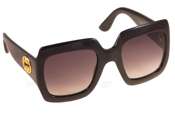 Γυαλια Ηλιου Gucci GG3826S D289O SHN BLACK (DARK GREY SF) Τιμή: 156,00
